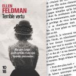 On a lu pour vous | Terrible vertu – Ellen Feldman
