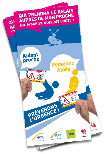 "Cover - Brochure ""Carte d'urgence"" - Ed. 2021"